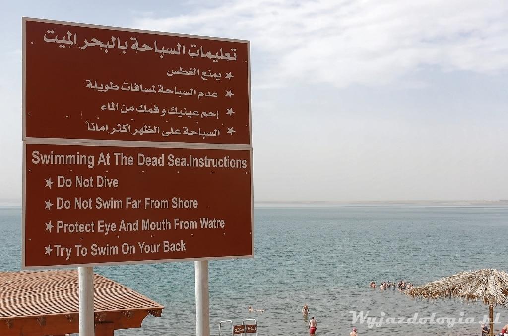 Jordania Morze Martwe