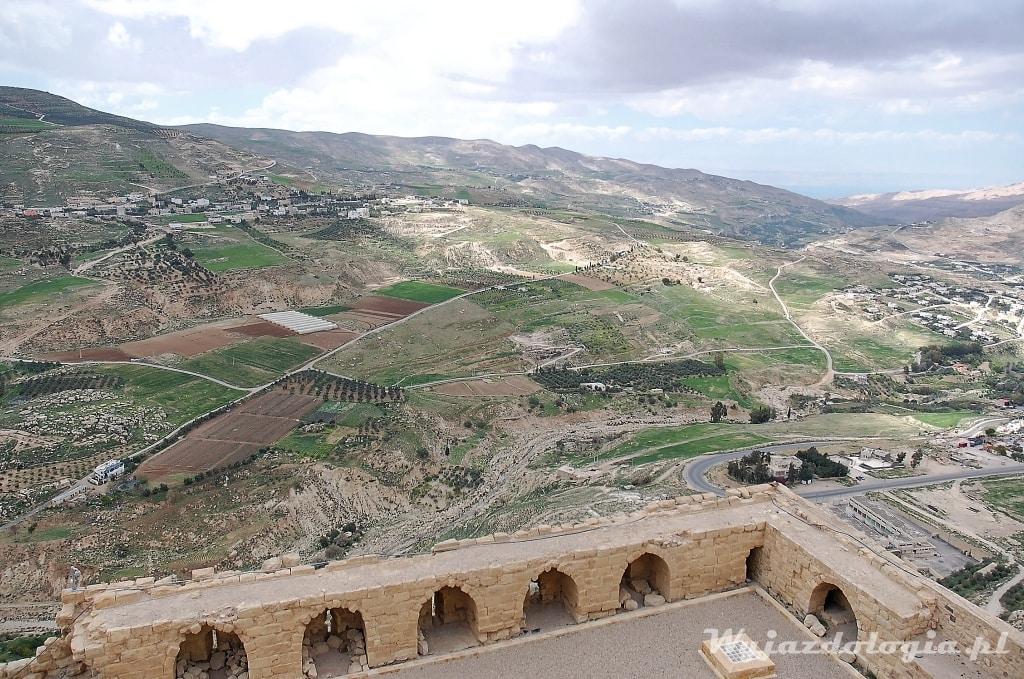 Al-Karak Zamek Krzyżowców w Jordanii