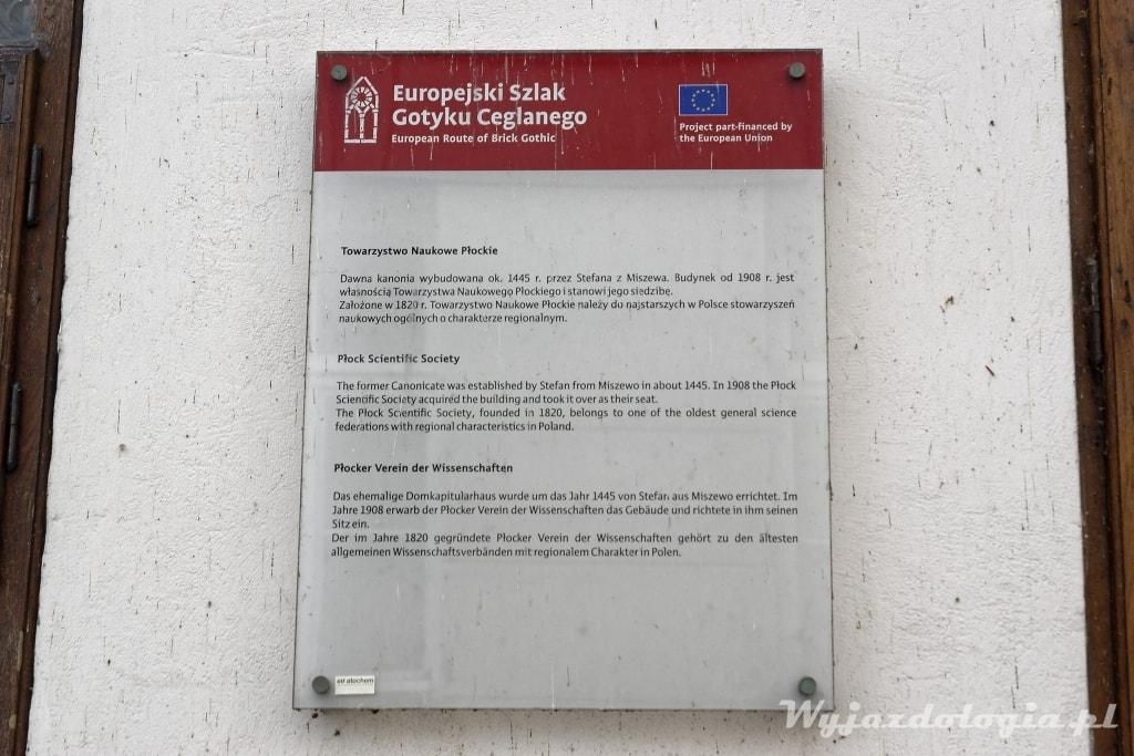 Europejski Szlak Gotyku Ceglanego w Płocku