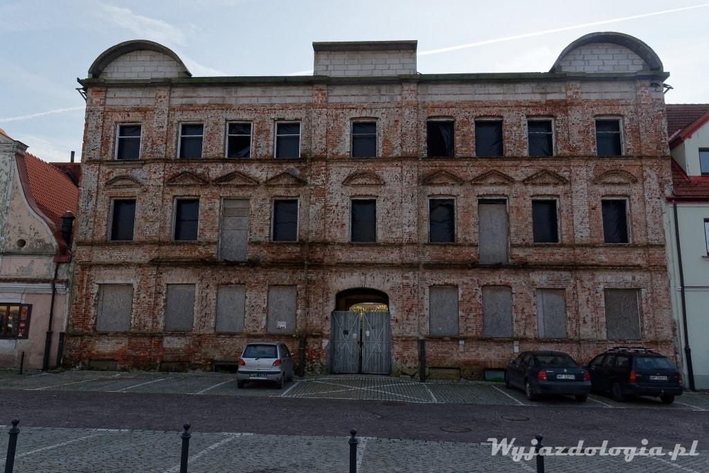 stary budynek w Płocku