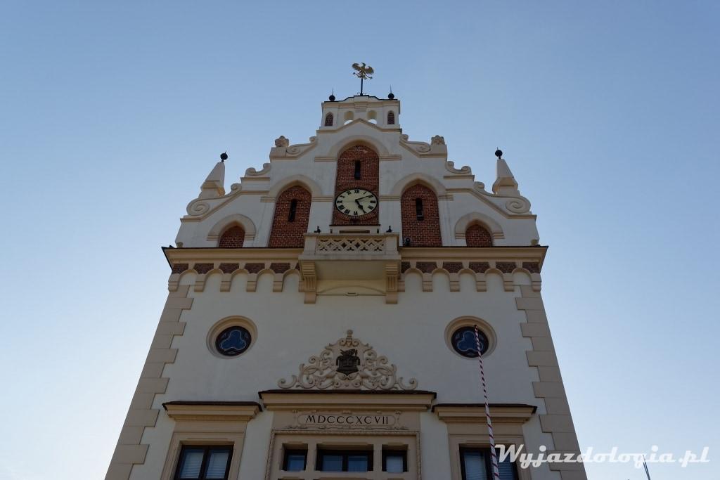 fasada Ratusza w Rzeszowie