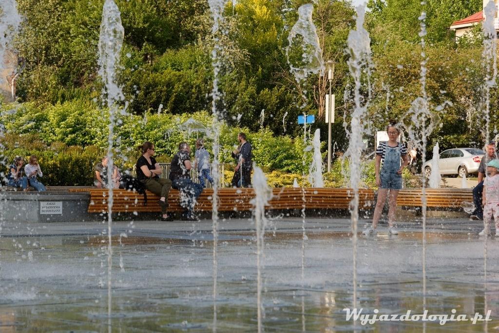 fontanna w Rzeszowie multimedia