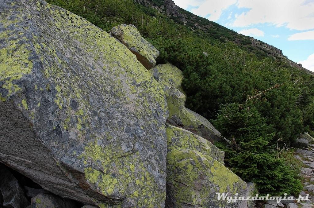 skały w Karkonoszach