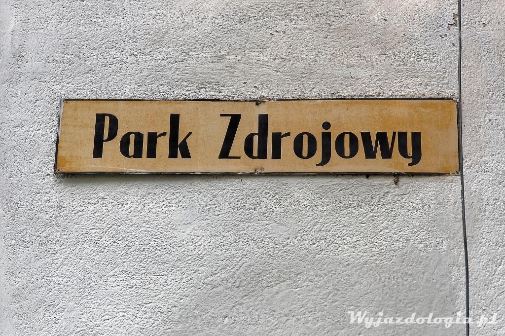 Park Zdrojowy w Cieplicach