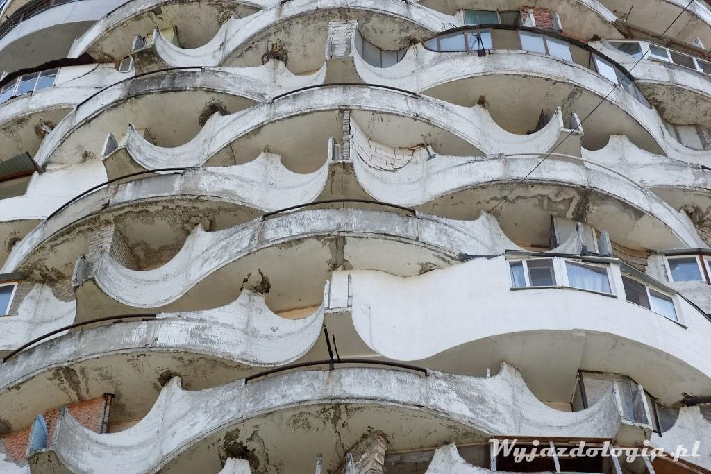 balkony w Kiszyniowie