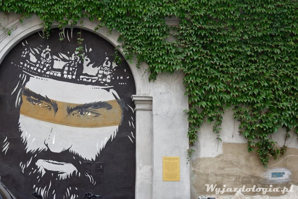 Kraków Atrakcje Mural