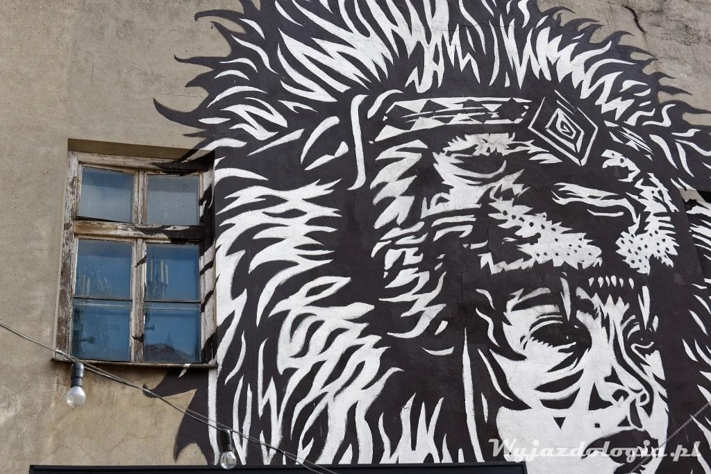 Mural Judah Kraków