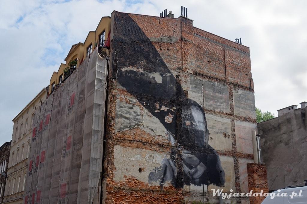 Kraków Mural św Wawrzyńca 5