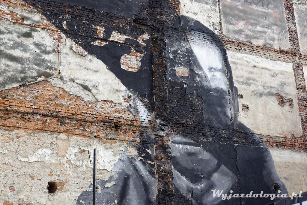 Mural Cenzura Kraków Pikaso