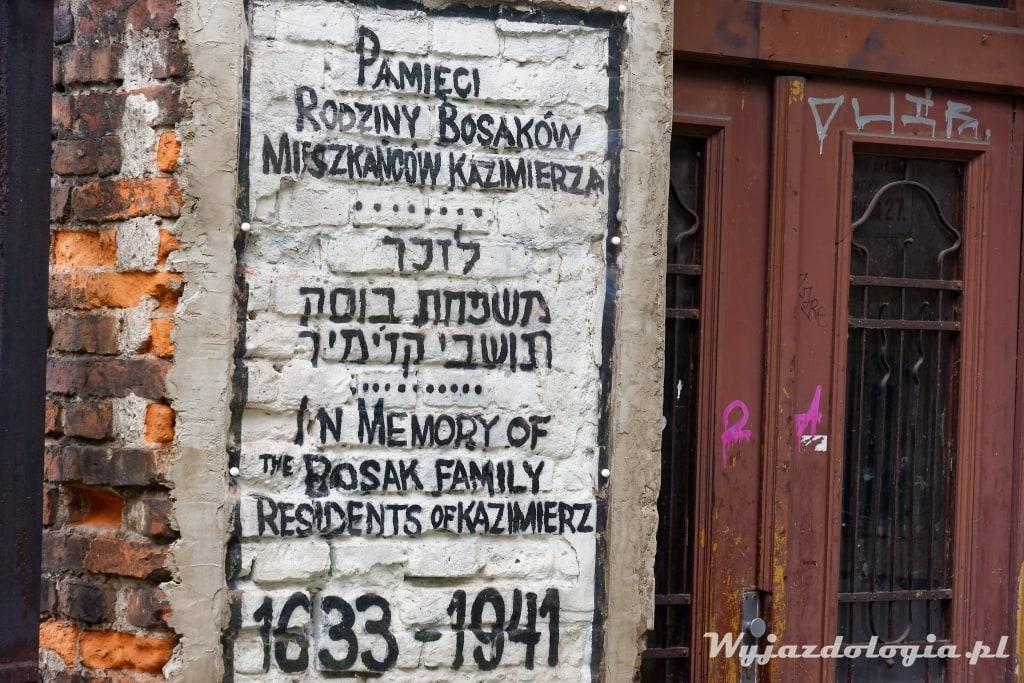 Kraków Mural Rodziny Bosaków