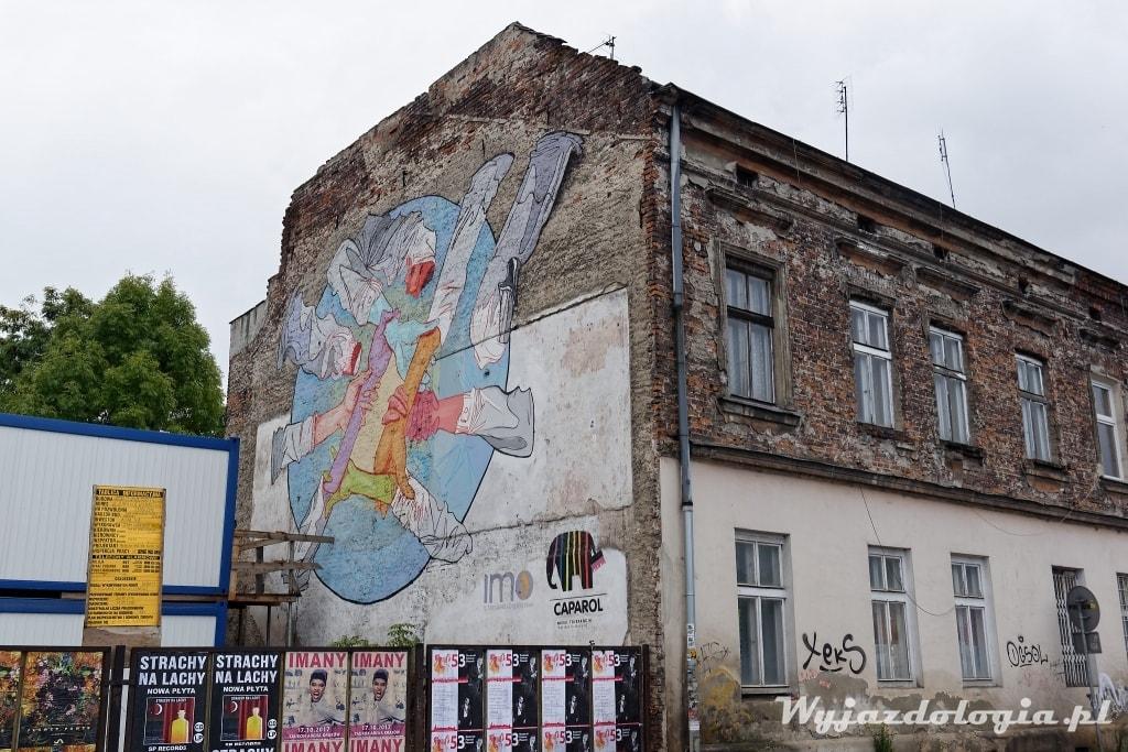 Kraków Atrakcje Murale