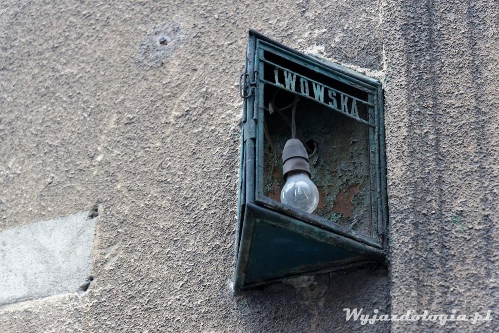 Kraków ulica Lwowska