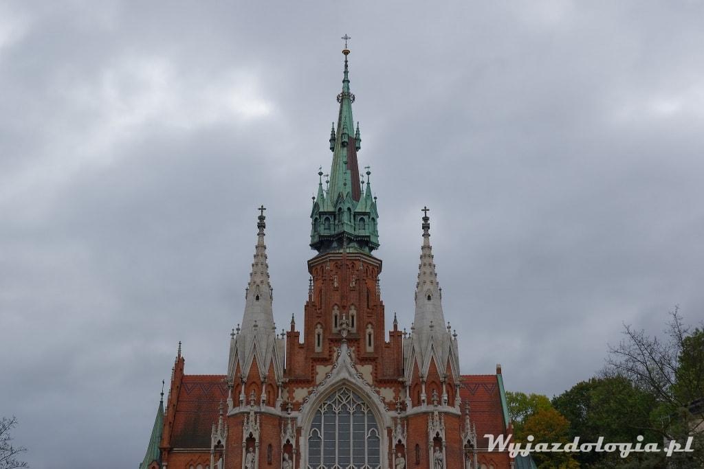 wieża kościóła św Józefa Kraków