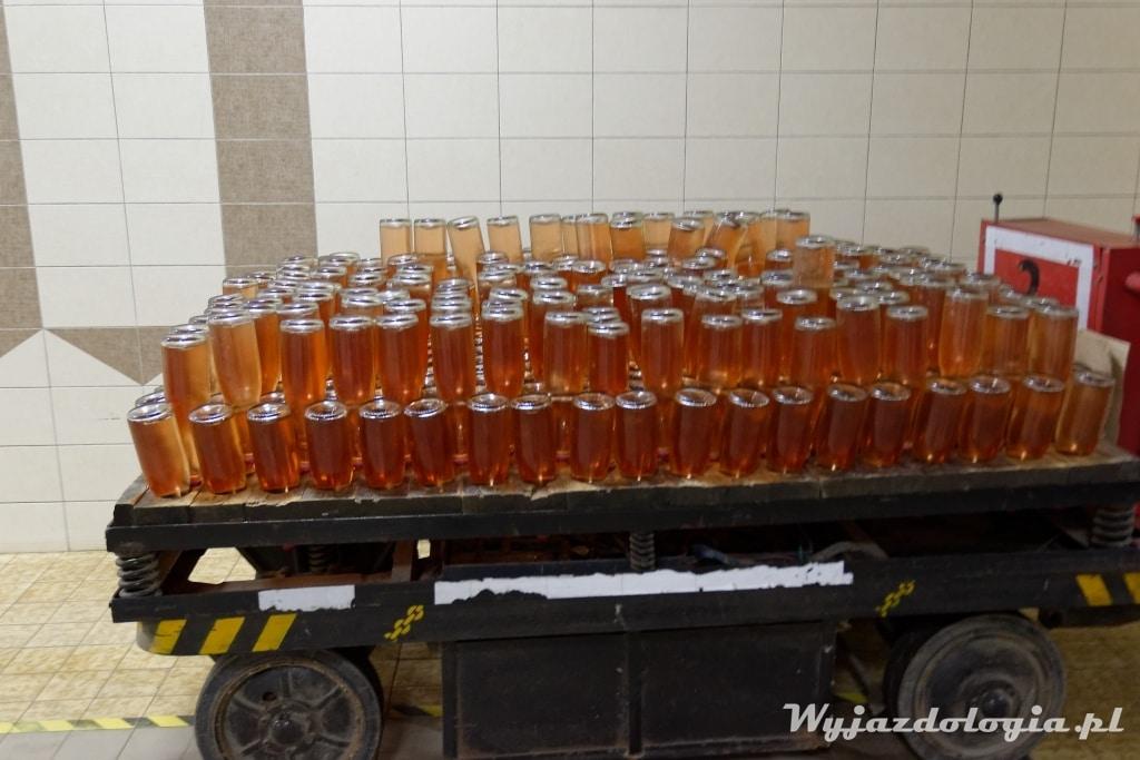 Produkcja mołdawskiego szampana