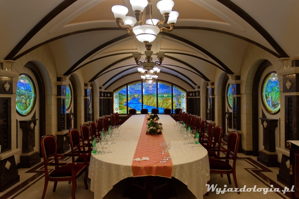 Sala do degustacji wina