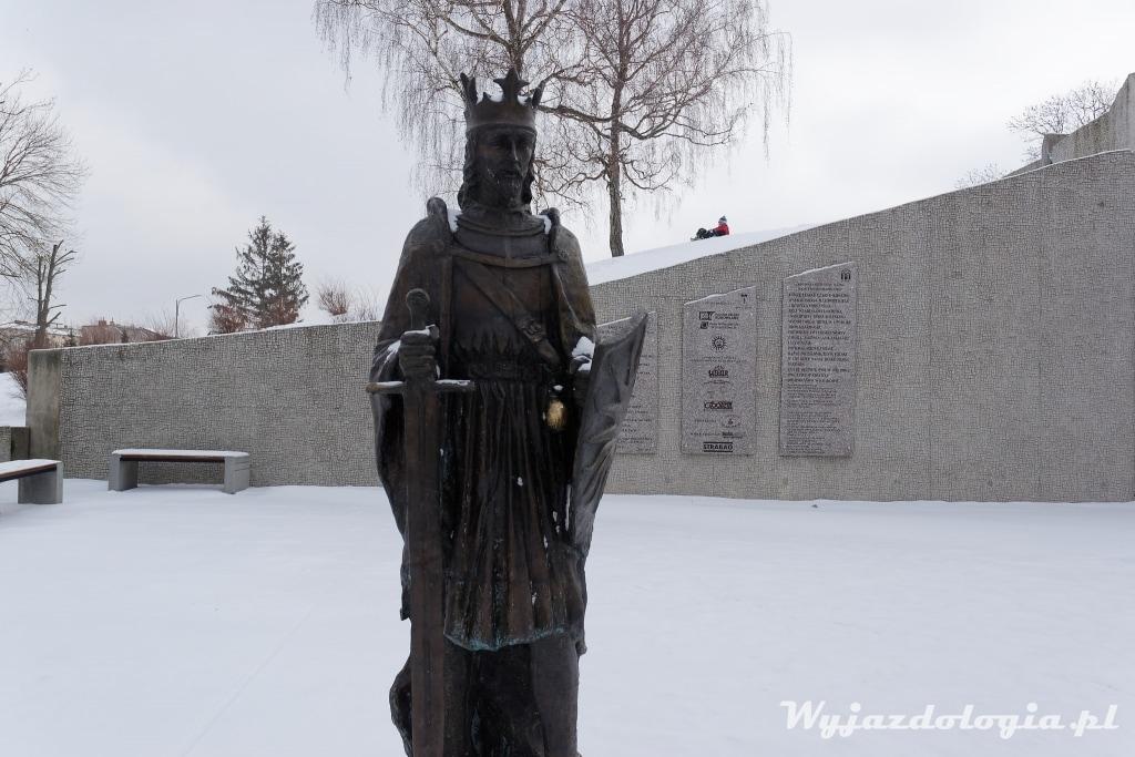 Pomnik Leszka Czarnego Busko-Zdrój