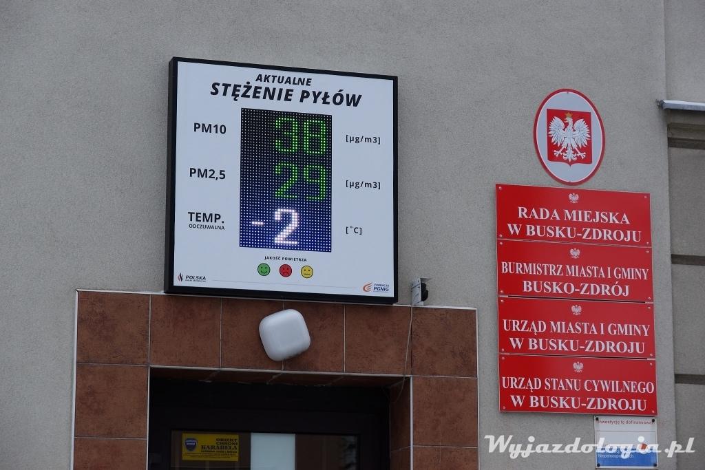 smog Busko-Zdrój