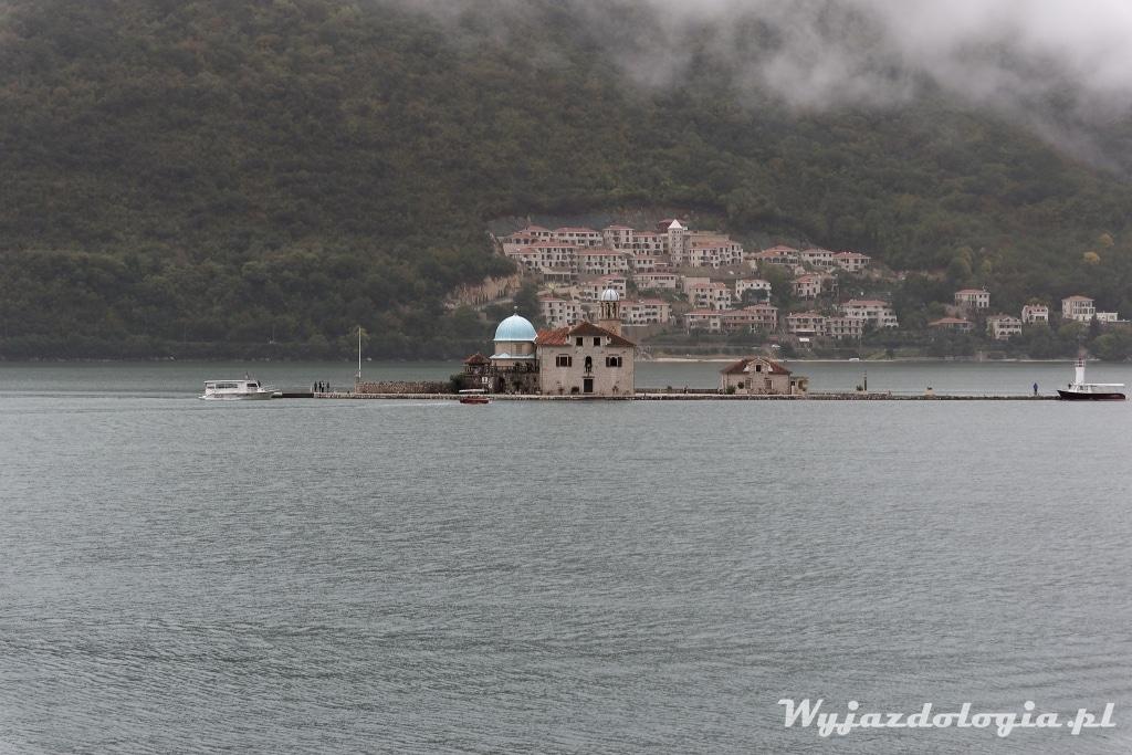 Perast wyspa Gospa od Skrpjela