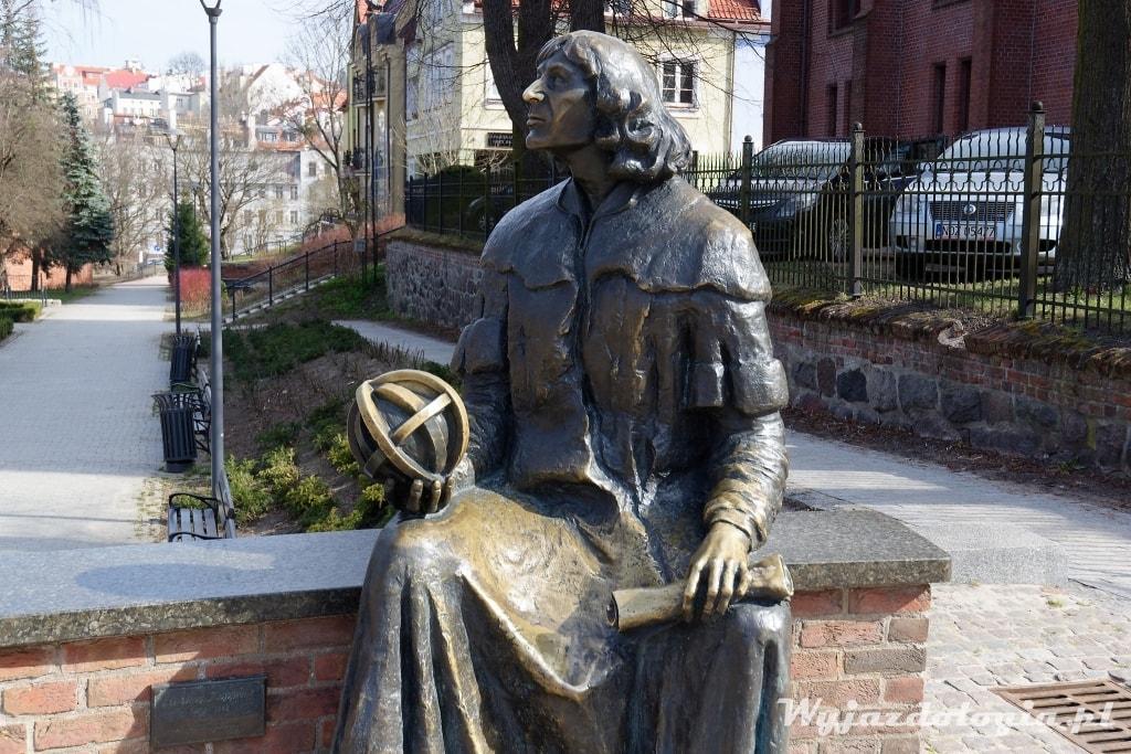 Olsztyn pomnik Kopernika