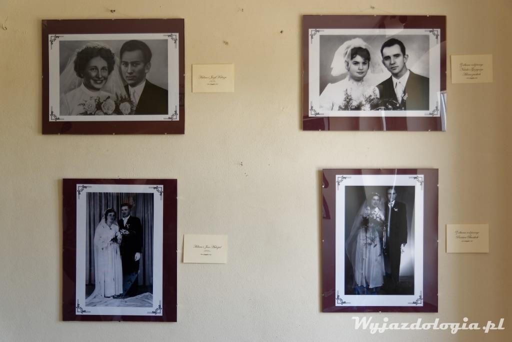 stare portrety ślubne