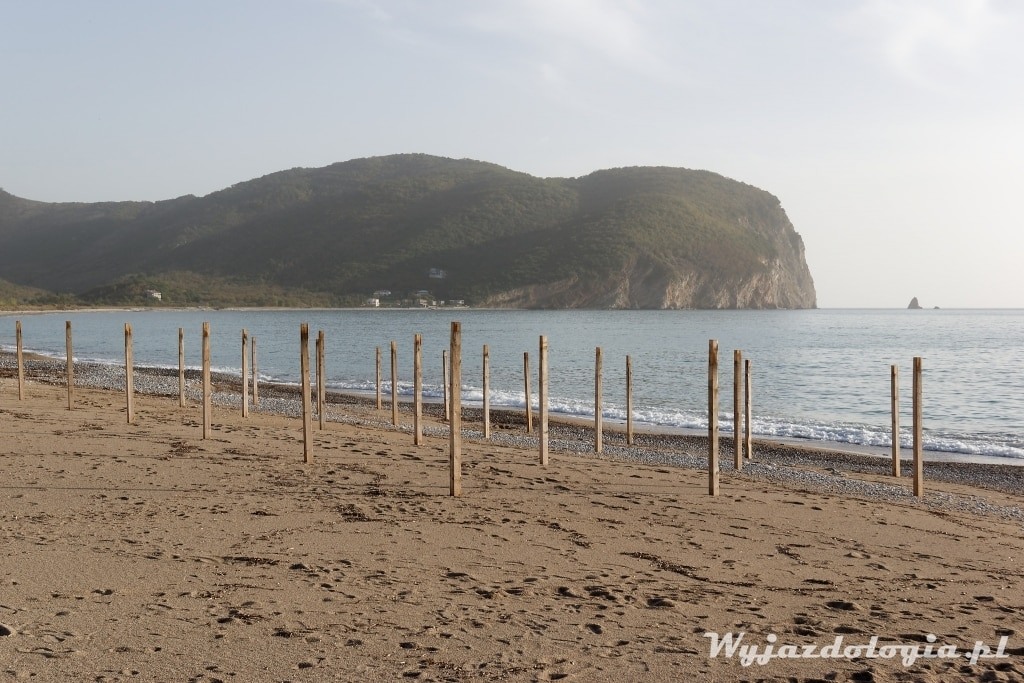 plaże w Czarnogórze