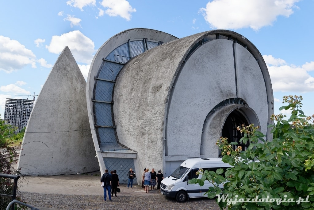 Kijów budynek krematorium