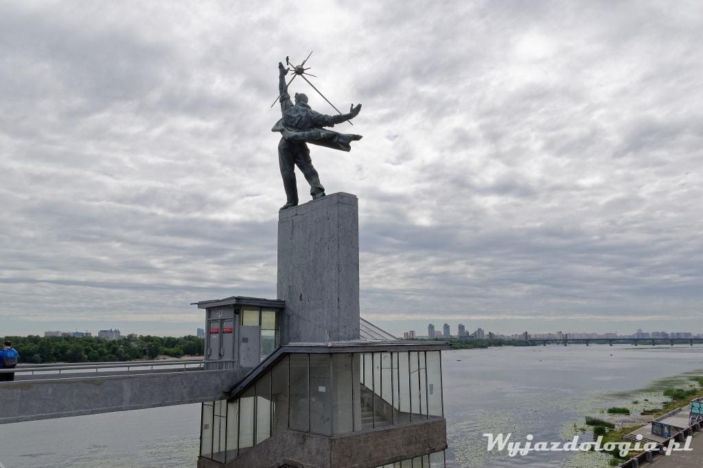 Kijów Atrakcje Stacja metra Dnipro