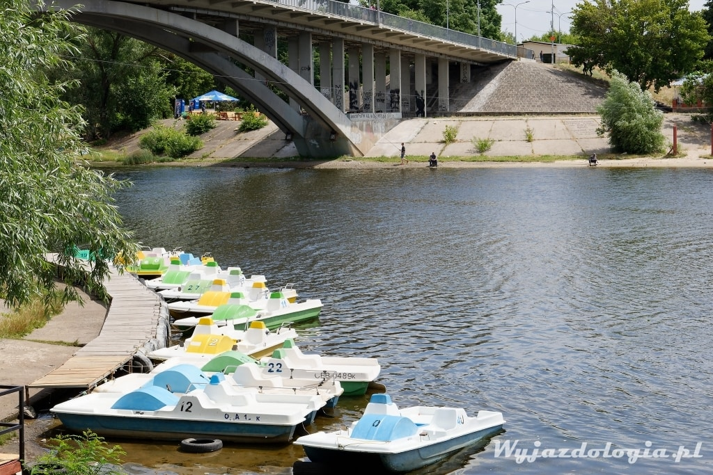 Kijów plaża hydropark