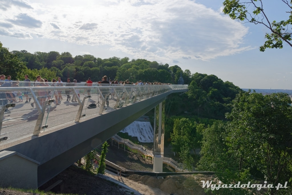 Kijów punkt widokowy