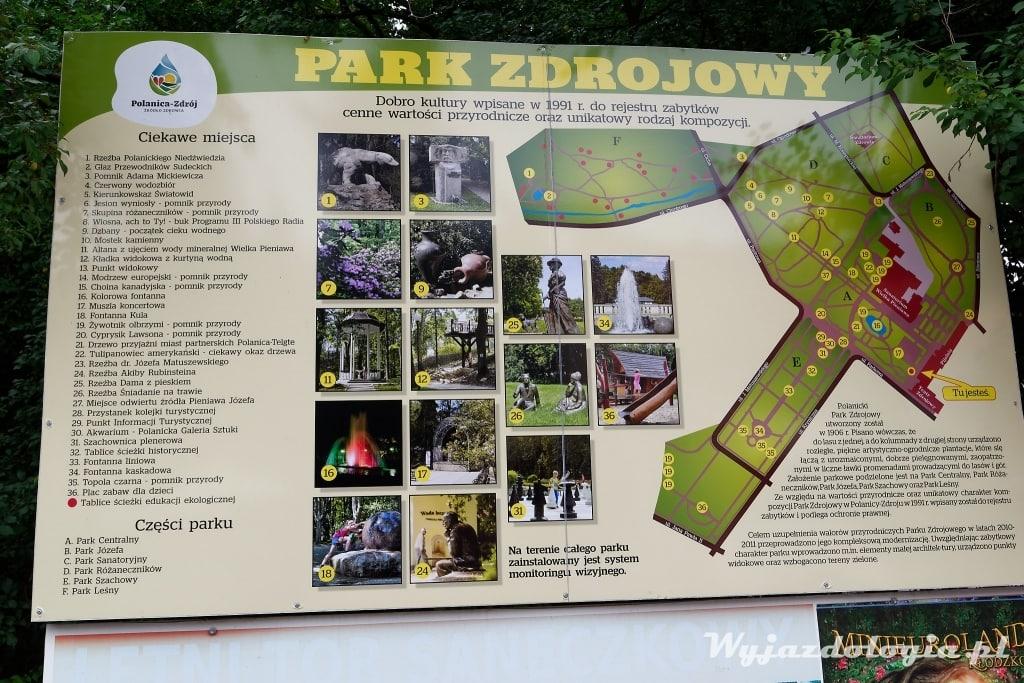 polanica plan parku zdrojowego