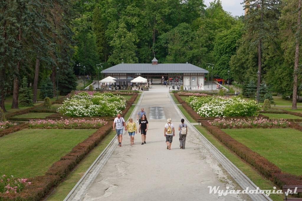 polanica widok na park szachowy