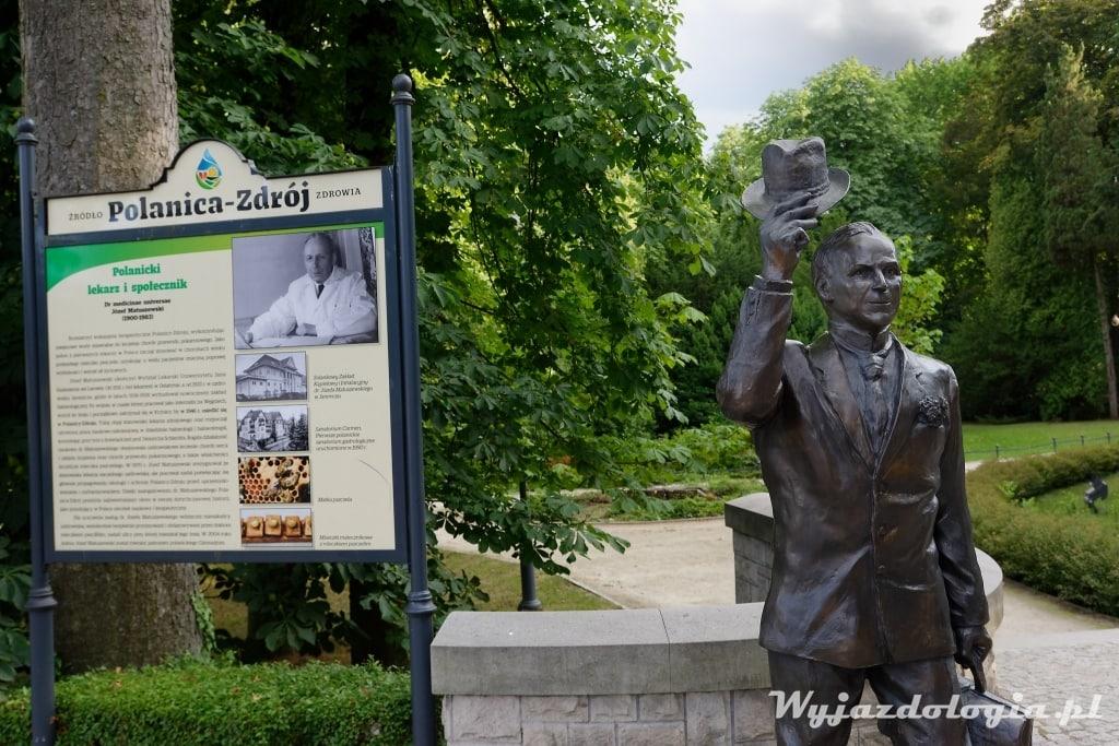 polanica zdrój pomnik doktora matuszewskiego