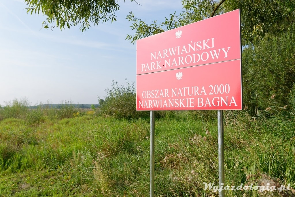 Kładka Kurowo - Narwiański Park Narodowy