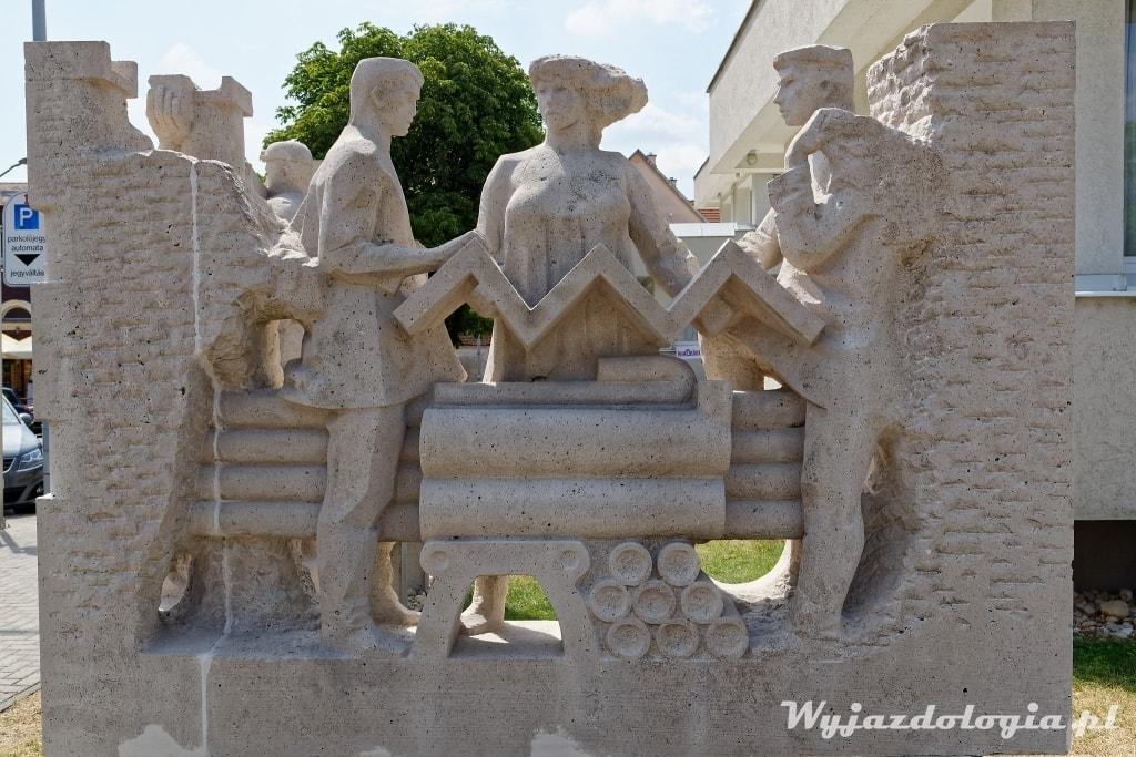 Tapolca pomnik górników