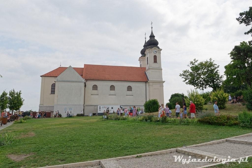 opactwo benedyktyńskie w Tihany atrakcja Balatonu