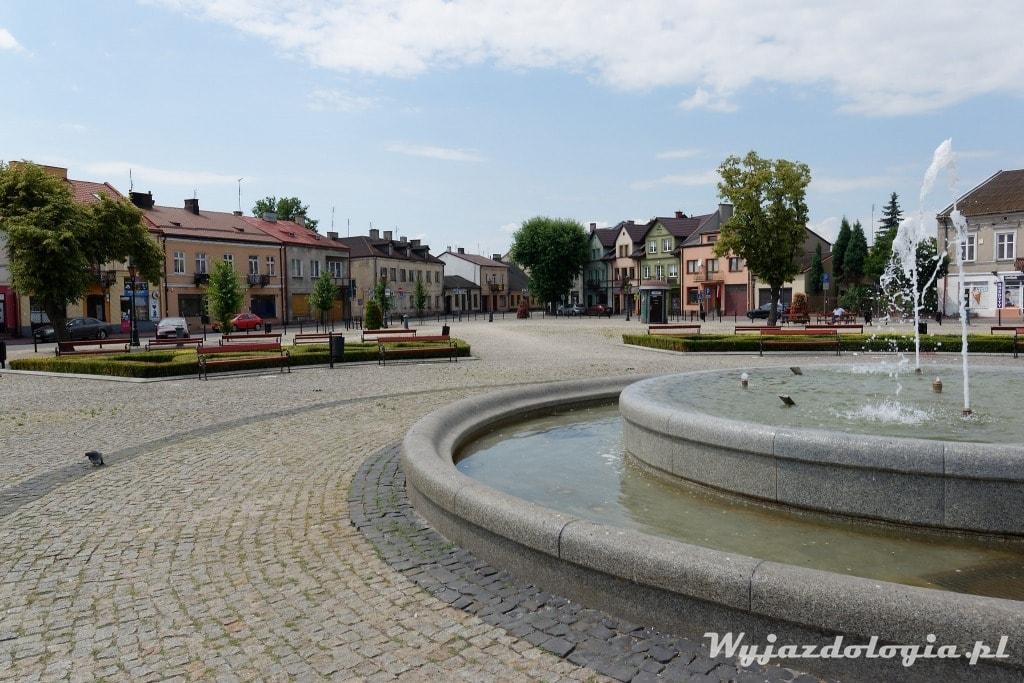 Łowicz fontanna na nowym rynku