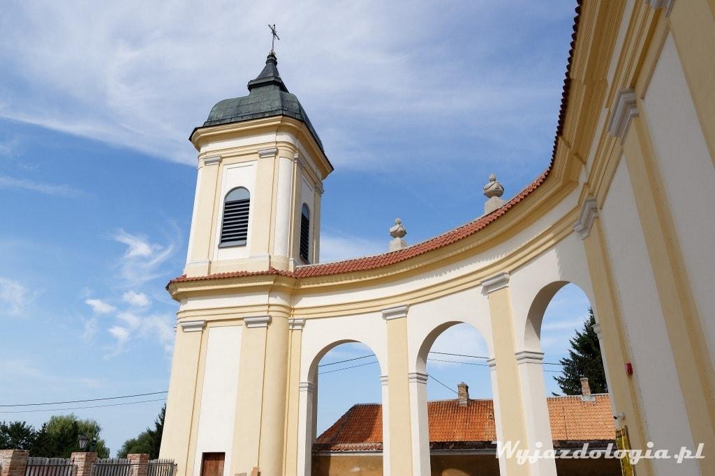 fasada parawanowa kościoła w Tykocinie