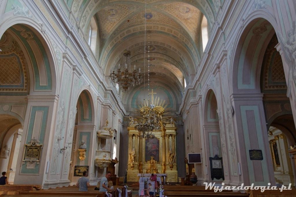 Tykocin wnętrze kościoła