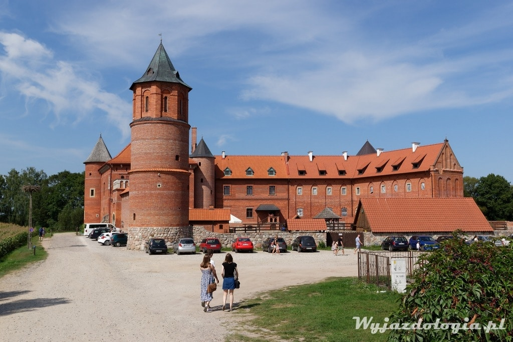 Zamek w Tykocinie to atrakcja miasta