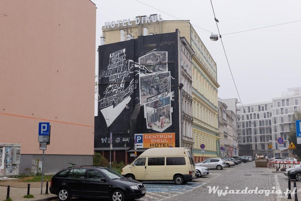 Wrocław mural L.U.C.
