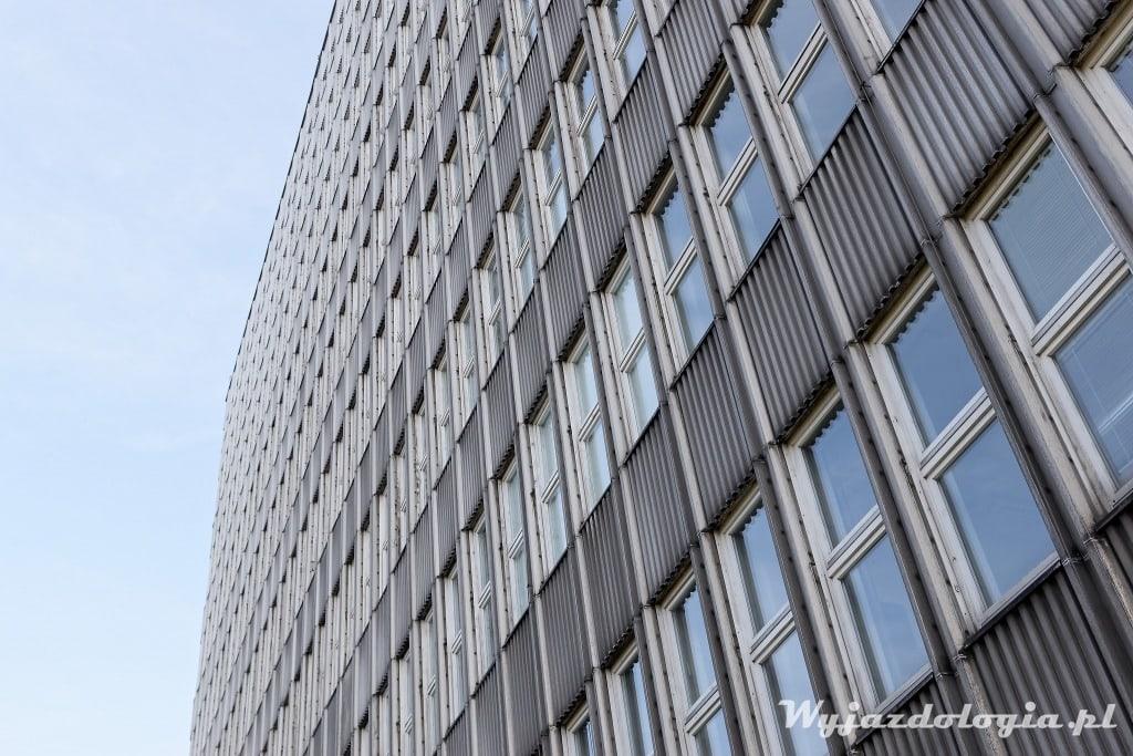 modernistyczna fasada Wrocław