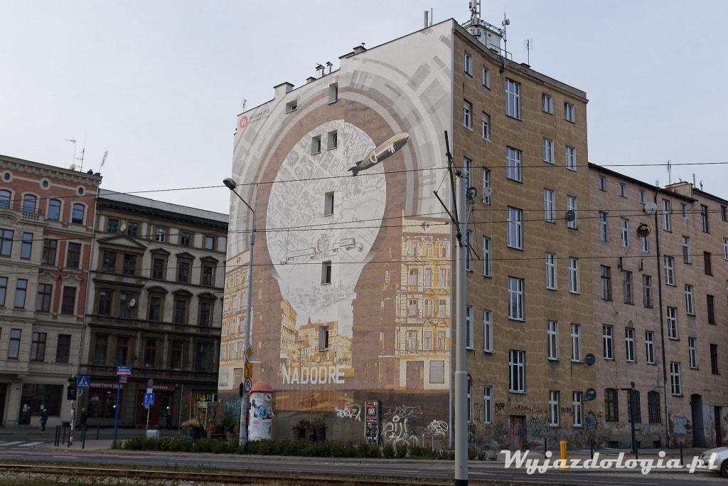 murala Nadodrze we Wrocławiu