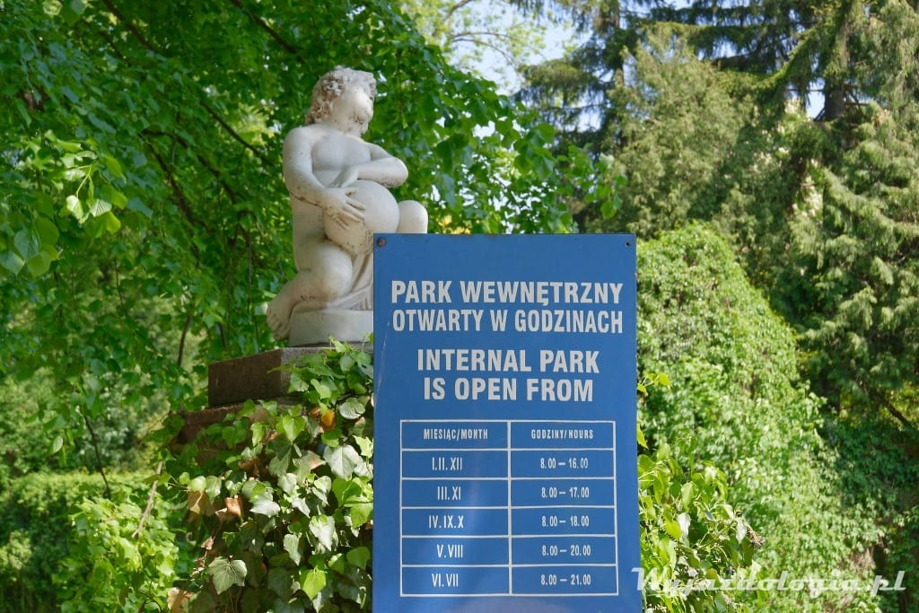 Łańcut Park Zamkowy