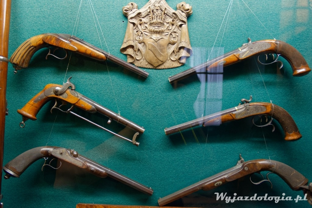 kolekcja broni w Łańcucie