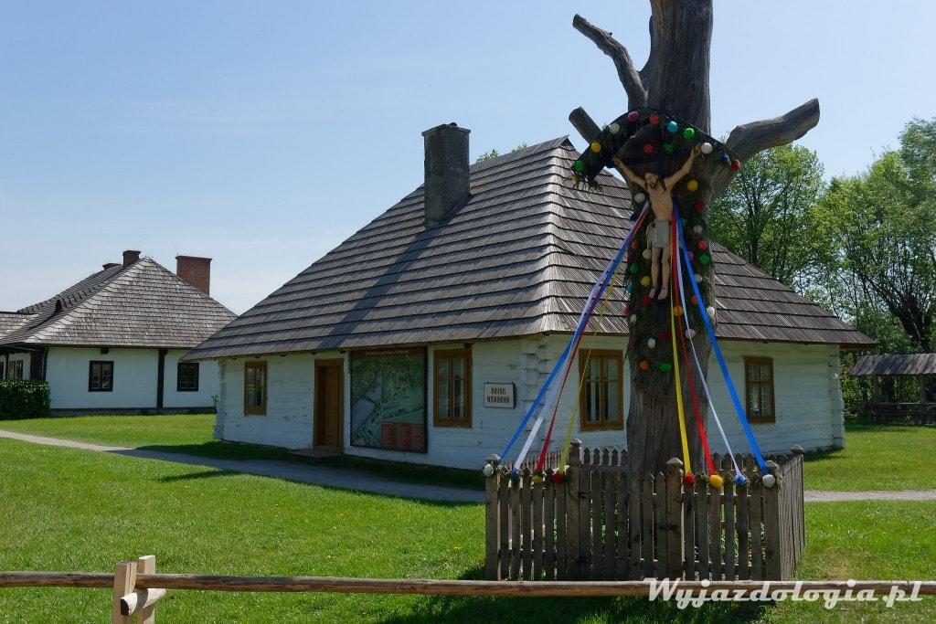 Chata w Skansenie w Kolbuszowej