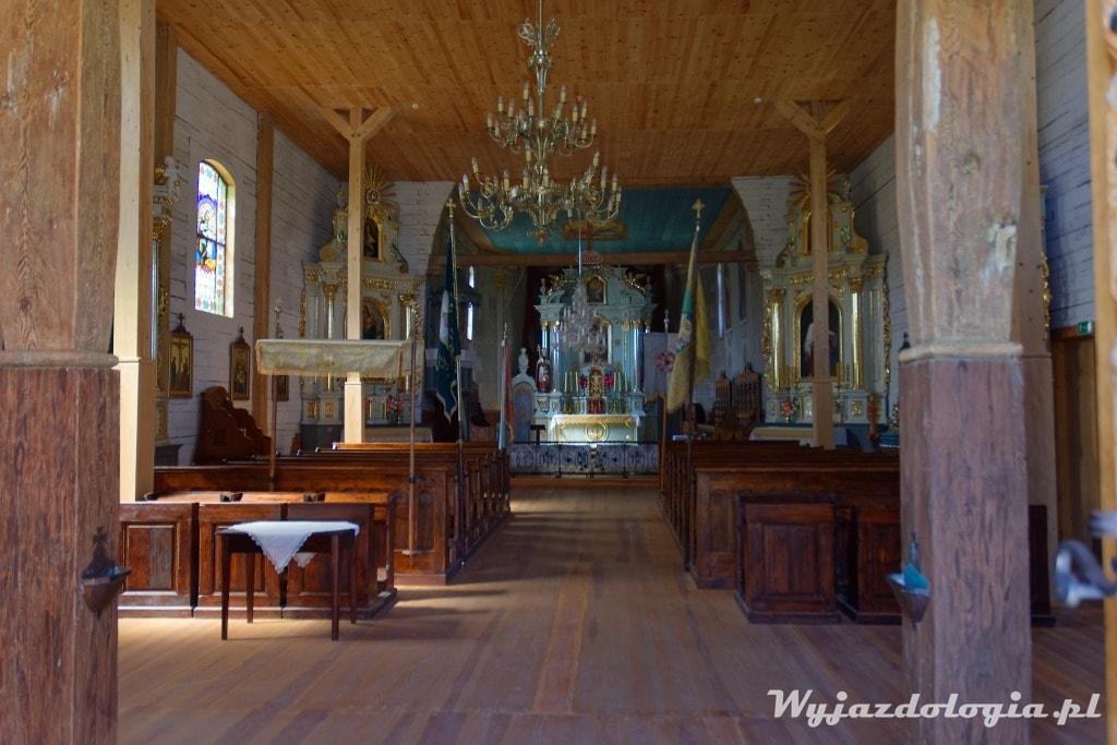 wnętrze kościoła św Marka w Kolbuszowej