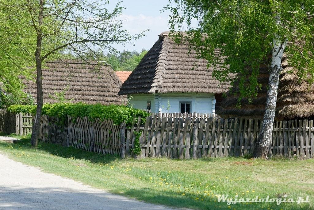 wieś skansen pod Rzeszowem