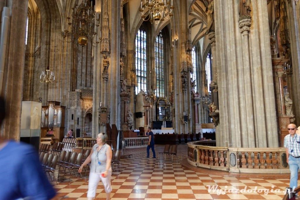 Wiedeń Zwiedzanie Katedry św Szczepana