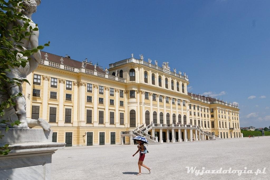 Atrakcją Wiednia jest Pałac Schonbrunn
