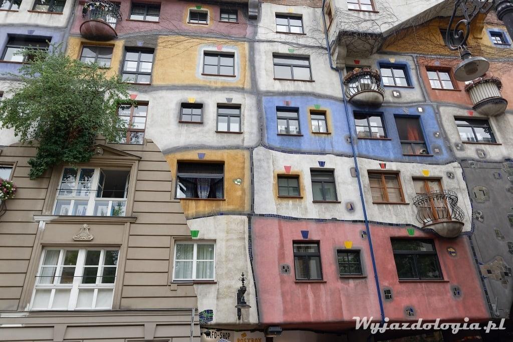Dom Hundertwassera warto zobaczyć w Wiedniu